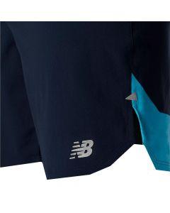 New Balance Men's Navy Impact Run 7 Inch Shorts