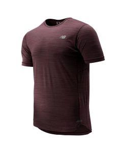 New Balance Men's Purple Seasonless Shirt