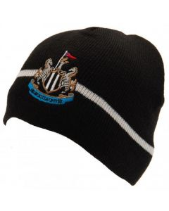 Newcastle United Black Knitted Hat