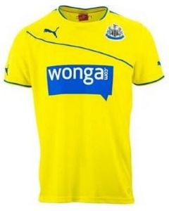 Newcastle United Boys Third Football Shirt 2013 - 2014
