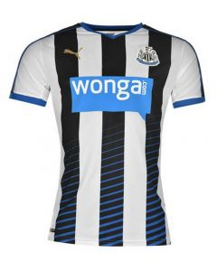 Newcastle United Kids (Boys Youth) Home Jersey 2015 - 2016