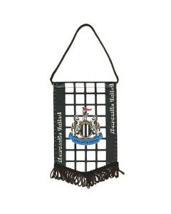 Newcastle United Mini Chequered Pennant