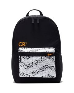 Front of Nike CR7 Black Backpack 2020/21