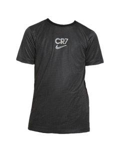 Nike CR7 junior black grid top