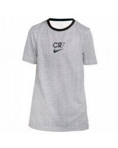 Nike X Cristiano Ronaldo kids white grid top 20/21