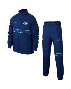 Nike CR7 Kids Blue Tracksuit 2019/20