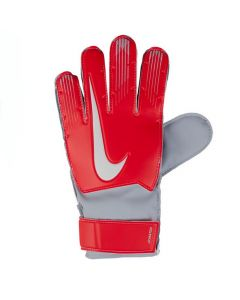 Nike Match Junior Goalkeeper Gloves 2018/19 (Red/Silver)