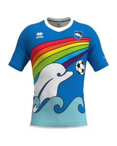 Pescara Calcio Kid's Errea rainbow shirt 2020/21