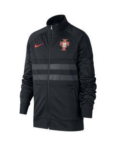 Portugal Kids Black I96 Anthem Jacket 2020/21