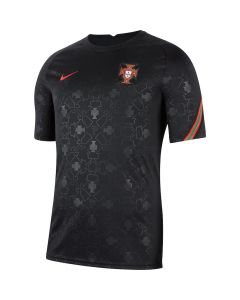 Portugal Kids Black Pre-Match Jersey 2020/21