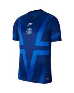 Paris Saint Germain Blue Pre-Match Shirt 2019/20