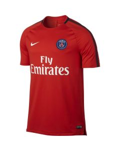 Paris Saint-Germain Squad Training Shirt 2017/18 (Red)