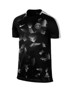 Paris Saint Germain Squad Training Jersey 2017/18 (Black/White)