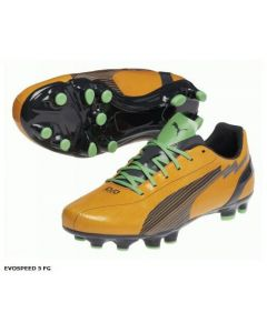 Puma Orange evoSpeed 5 Boys FG Football Boots