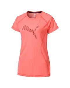 Puma Peach Running Top Ladies