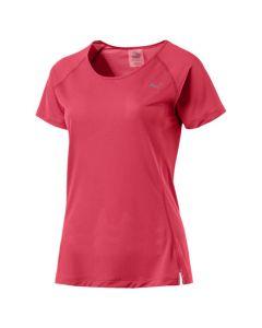 Puma Women's Core Run T-Shirt (Pink)