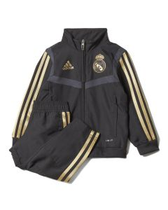 Real Madrid Infants Black Presentation Suit 2019/20