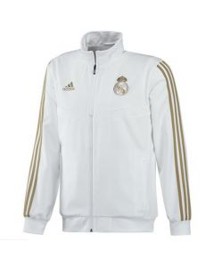 Real Madrid white presentation jacket 2019/20