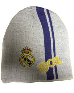 Real Madrid 1902 Beanie Hat (White)