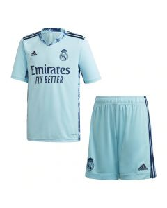Real Madrid Kids Home Goalkeeper Kit 2020/21