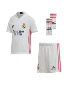 Real Madrid Kids Home Kit 2020/21