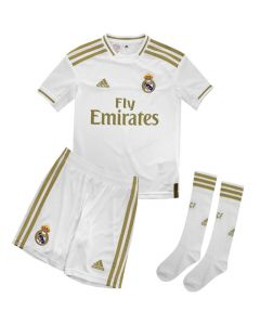 Real Madrid Home Youth Football Kit 2019/20