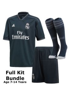 Real Madrid Kids Away Kit Bundle 2018/19