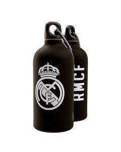 Real Madrid Aluminium Drinks Bottle (Black)