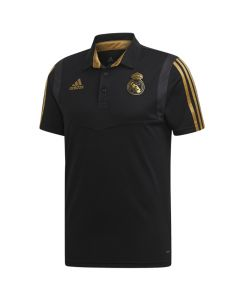 Real Madrid Black Polo Shirt 2019/20