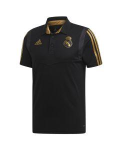 Real Madrid Black Polo Shirt 2019/20