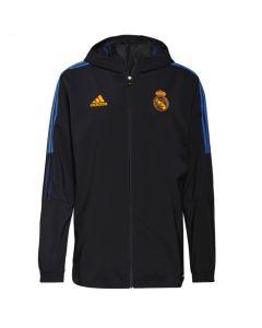 Real Madrid 21/22 black presentation jacket