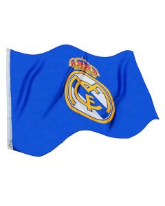 Real Madrid Core Crest Flag