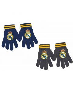Real Madrid Kids Knitted Gloves