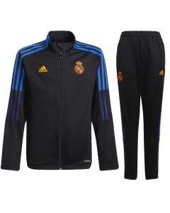 Real Madrid kids black tracksuit 21/22