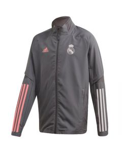 Real Madrid junior grey presentation jacket 20/21