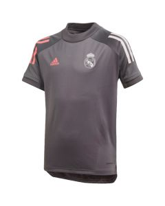 Real Madrid junior grey training jersey 20/21