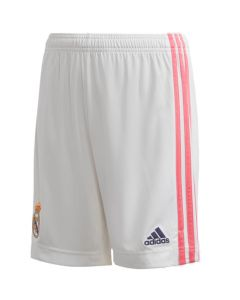 Real Madrid junior home shorts 20/21