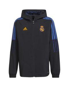 Real Madrid junior presentation jacket 21/22