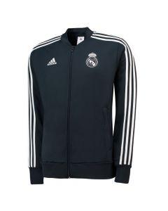 Real Madrid Adidas Dark Grey Presentation Jacket 2018/19 (Adults)