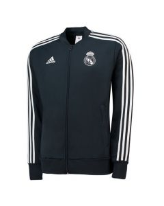 Real Madrid Adidas Dark Grey Presentation Jacket 2018/19 (Kids)