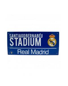 Real Madrid Street Sign