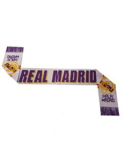 Real Madrid Jacquard Football Scarf