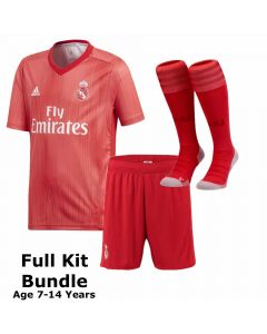 Real Madrid Kids Third Kit Bundle 2018/19