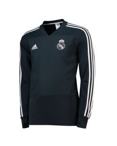 Real Madrid Adidas Dark Grey Training Top 2018/19 (Adults)