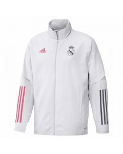 Real Madrid white presentation jacket 20/21