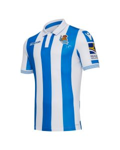 Real Sociedad Macron Home Shirt 2018/19 (Adults)