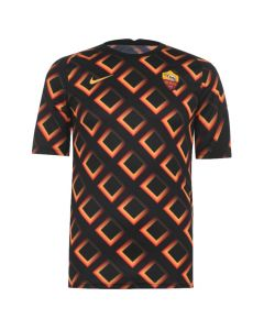Roma 20/21 black pre-match training jersey