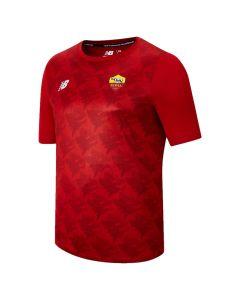 AS Roma 21/22 red lightweight tee
