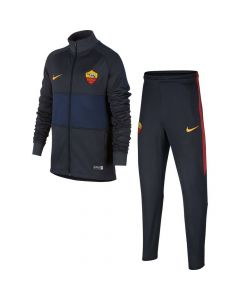 AS Roma Kids Navy Strike Tracksuit 2019/20