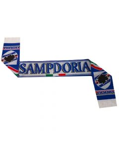 Sampdoria Jacquard Football Scarf